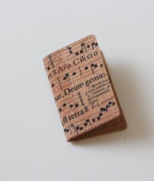 Cadeaux - Musique - Cork case - Sainte Cécile for business cards - Accessoire - di-arezzo.co.uk