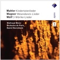 Kindertotenlieder - Wesendonck-Lieder - 3 Mörike-Lieder laflutedepan.com