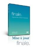 Logiciel FINALE 25 - MISE A JOUR FINALE 25 Accessoire laflutedepan.com