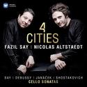 4 Cities - CD Fazil SAY & Nicolas ALSTAEDT Accessoire laflutedepan.com