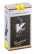 Boite de 10 anches VANDOREN série V.12 pour SAXOPHONE ALTO force 3 laflutedepan.com