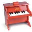 Piano Rouge - Jouet pour enfant - laflutedepan.com