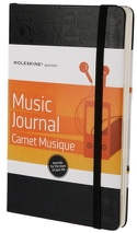 Carnet à musique MOLESKINE Grand format - laflutedepan.com