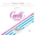 JEU VIOLON 3/4 CRYSTAL Médium Cordes pour Violon laflutedepan.com