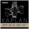Corde seule : MI Violon KAPLAN GOLDEN SPIRAL solo à boule - Tirant MOYEN laflutedepan.com