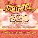 JEU de Cordes pour Guitare LA BELLA 820 Elite – Flamenco Red Nylon laflutedepan.com