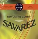JEU de Cordes SAVAREZ - 540CR - CRISTAL CLASSIC ROUGE laflutedepan.com
