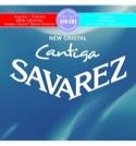 JEU de Cordes pour Guitare SAVAREZ CANTIGA NEW CRISTAL BLEU / ROUGE tension mi - laflutedepan.com