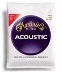 JEU de Cordes pour Guitare MARTIN FOLK Bronze light - 12-54 laflutedepan.com