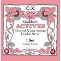 JEU de Cordes pour Guitare KNOBLOCH Carbone Tension Médium laflutedepan.com