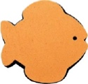 Epaulière Magic Pad Poisson Rouge GEWA - laflutedepan.com