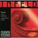 JEU de Cordes pour violon THOMASTIK Infeld Noyau hybride rouge - laflutedepan.com