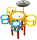 Batterie Multicolore Jeu musical pour enfant laflutedepan.com