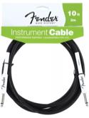 Cable Fender 3 mètres instrument performance noir - laflutedepan.com