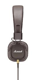 Casque Marshall Major MKII marron pour iphone, iPod, MP3 laflutedepan.com