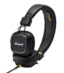 Casque Marshall Major MKII noir pour iphone, iPod, MP3 laflutedepan.com
