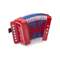 Accordéon Rouge New Classic Toys laflutedepan.com