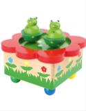 Boîte à musique Danse des grenouilles laflutedepan.com