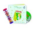 Lot Noël + Bâton de pluie Jeu musical pour enfant laflutedepan.com