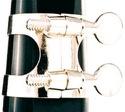 Ligature SML métal nickelé pour Clarinette Sib - laflutedepan.com