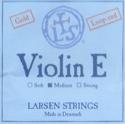 Corde Larsen de Mi Gold avec boucle Violon Synthetic / Fiber Core Medium laflutedepan.com