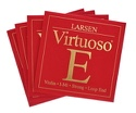 Jeu de cordes Larsen (Mi avec boule) Violon Virtuoso Fort laflutedepan.com
