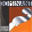 Corde de RE violon 4/4 argent/nylon boule Dominant tirant moyen laflutedepan.com