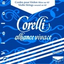 La violon 4/4 Corelli Alliance tirant medium laflutedepan.be