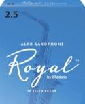 D'Addario Rico Royal - Anches Saxophone Alto 2.5 laflutedepan.be