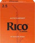 D'addario Rico - Anches Clarinette Alto 2.5 laflutedepan.com