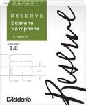 D'Addario Réserve - Anches Saxophone Soprano 3.0 laflutedepan.com