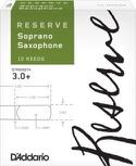 D'Addario Réserve - Anches Saxophone Soprano 3+ laflutedepan.com
