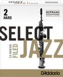 D'Addario Select Jazz Filed - Anches Saxophone Soprano 2.0 laflutedepan.com
