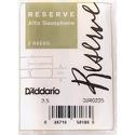 D'Addario Woodwinds DJR0225 Reserve - Anches Saxophone Alto 2,5 laflutedepan.com