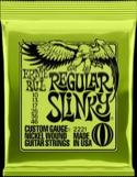 Cordes Ernie Ball 2221 Guitare électrique Regular slinky 10-13-17-26-36-46 laflutedepan.com