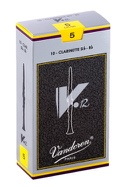 Vandoren CR195 - Anches V12 Clarinette Si bémol 5.0 - laflutedepan.com