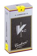 Vandoren CR614 - Anches V12 Clarinette Mi bémol 4.0 - laflutedepan.com