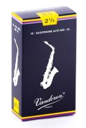 Vandoren SR2125 - Anches Saxophone Alto 2.5 laflutedepan.com