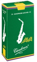 Boite de 10 anches VANDOREN série JAVA pour SAXOPHONE ALTO force 1 laflutedepan.com