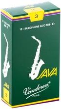 Boite de 10 anches VANDOREN série JAVA pour SAXOPHONE ALTO force 3 laflutedepan.com