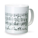 Mug - Tasse Beethoven Cadeaux - Musique Accessoire laflutedepan.com