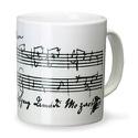Mug - Tasse Mozart Cadeaux - Musique Accessoire laflutedepan.com