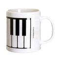Mug - Tasse Clavier de Piano Cadeaux - Musique laflutedepan.com