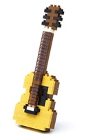 NANOBLOCK - Guitare acoustique laflutedepan.com