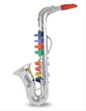 Saxophone Bontempi 8 clefs - notes de couleur laflutedepan.com