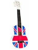 Guitare de luxe enfant - Drapeau Anglais laflutedepan.com