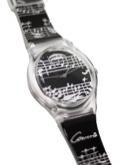 Montre-bracelet Concerto noir Cadeaux - Musique laflutedepan.com