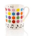 Mug - Tasse à points Cadeaux - Musique Accessoire laflutedepan.com