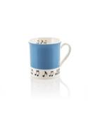 Mug - Tasse bleue ciel Love music Cadeaux - Musique laflutedepan.com
