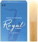 D'Addario Rico Royal - Anches Saxophone Ténor 2.5 laflutedepan.com